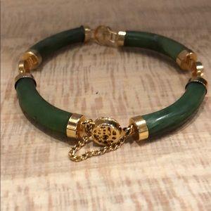 Vintage jade lucky bracelet